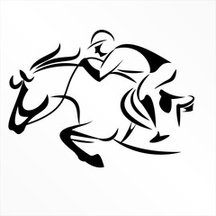 Horse Racing riding