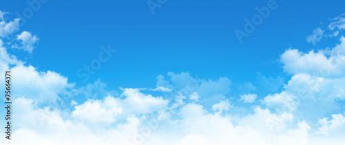 panoramic cloudscape