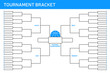 Basketball Tournament Bracket - 75664580