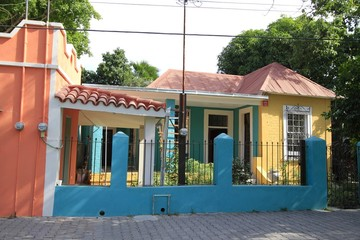 Local architecture - Mexican House