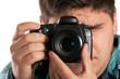 Male Photographer Shooting