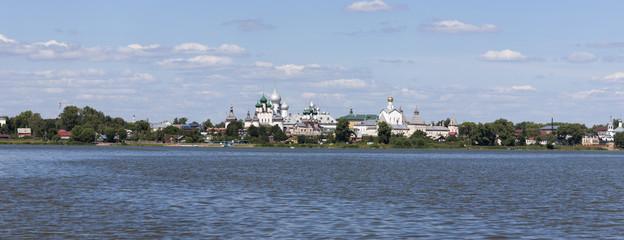 Panorama of the Kremlin in the city of Rostov