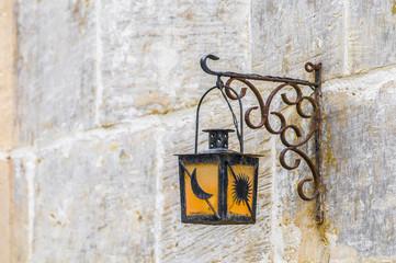 Streetlamp in Vittoriosa (Birgu) Malta
