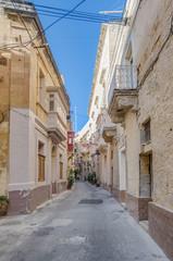 Tabone Street in Vittoriosa, Malta