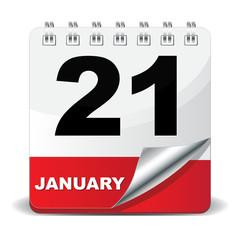 21 JANUARY ICON