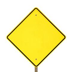 Black Yellow Warning Sign