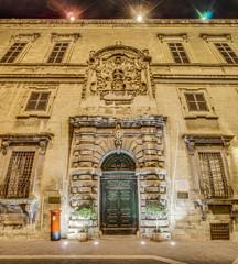 Auberge d'Italie in Valletta, Malta