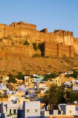 Landscape Mehrangarh Fort India City Concept