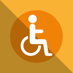 disabled zone