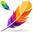 Colorful Feather - 75670189
