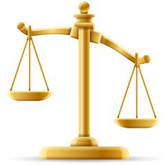 Unbalanced Justice Scale