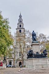 Saint Clement Danes church at London, England