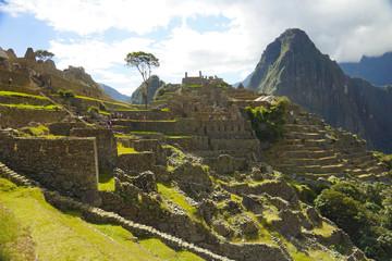 Ancient Inca ruins of Machupicchu