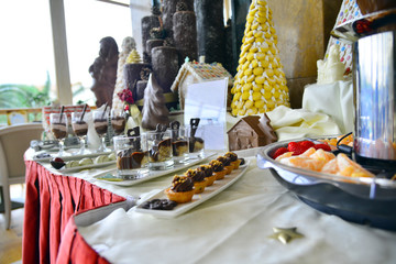 Buffet, chocolat, catering, hotel, accomodation, celebration