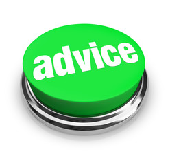 Advice Word Button Help Tips Support Assistance Information