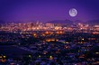 Leinwanddruck Bild - Phoenix Arizona Skyline
