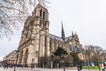 パリ ノートルダム寺院,