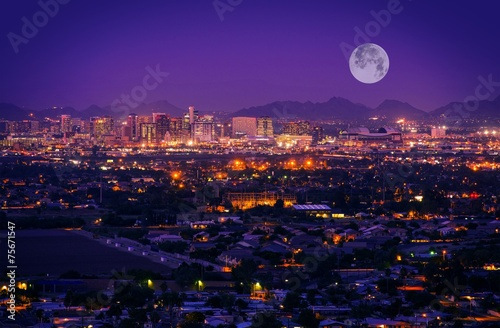 Papiers peints Arizona Phoenix Arizona Skyline