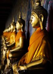 Buddhas of Wat Arun, Bangkok, Thailand