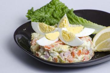 Salad Olivier - Russian salad