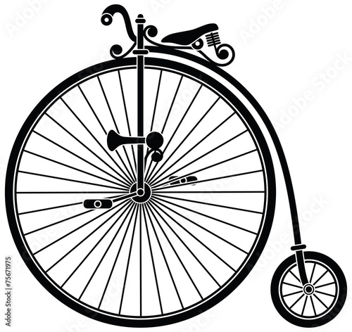 Penny Farthing Bicycle - 75671975