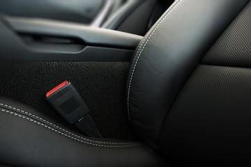 Modern Car Seat Closeup