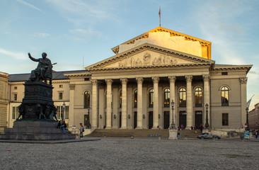 The National Theatre of Munich, located at Max-Joseph-Platz