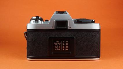 Vintage Film Camera Rear View
