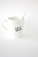 worker coffee cup