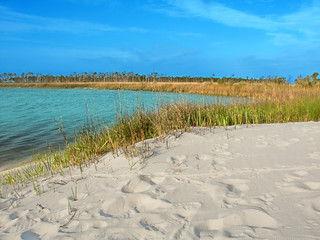 Horn Island Lagoon Mississippi