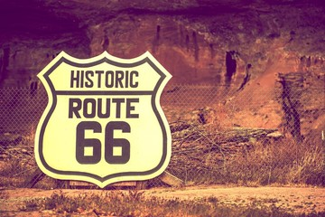 Famous Route 66 Sign