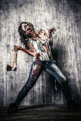satan zombie