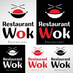 logo restaurant wok chinois