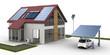 canvas print picture - Energiehaus
