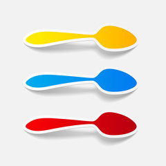 realistic design element: spoon