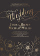 Awesome wedding invitation. - 75680132