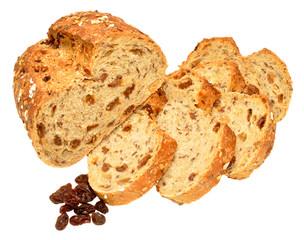 Raisin And Muesli Bread Loaf