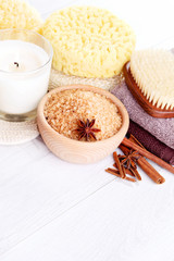 cinnamon bath salt
