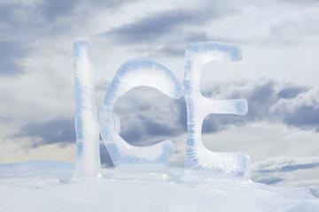 Frozen text ICE