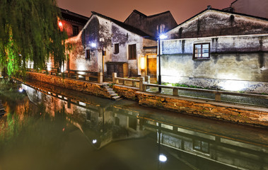 China Suchou Canal Houses