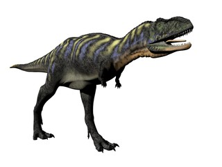 aucasaurus dinosaur - 3d render
