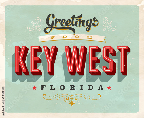 Retro Greetings from Key West