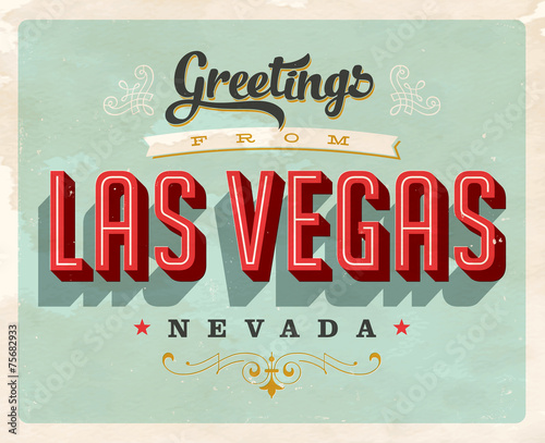 Retro Greetings from Las Vegas