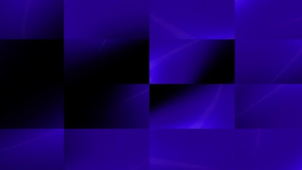 Dark blue animated background with rectangels