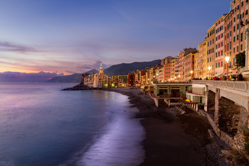 italy, the village of Camogli