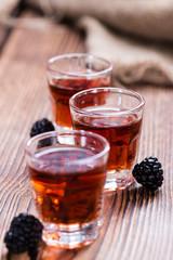 Blackberry Liqueur shot