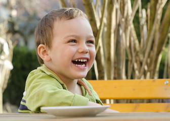 Happy child portrait