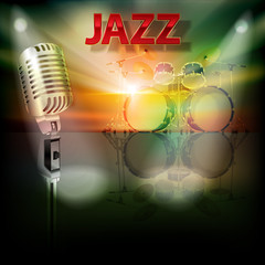 abstract jazz background