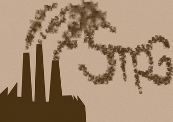Smog factory vintage