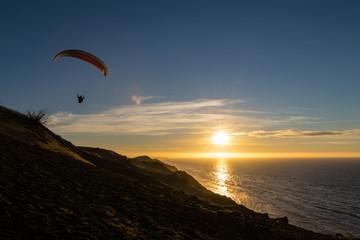Paraglider Nordsee-Küste